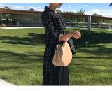 Borse rotonde della signora Handbags Leather Handbags Designer di modo delle borse della donna del sacchetto delle donne della borsa delle signore della maniglia (WDL0360)