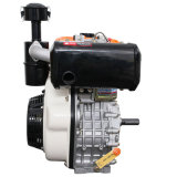 Compression-Ignition motor diesel refrigerado por aire (14CV con ventilador de color verde)