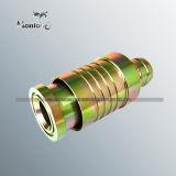 Tubo flexible hidráulico de acero al carbono galvanizado British el adaptador de manguera (JA021)