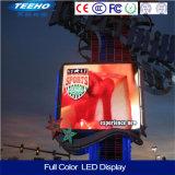 Schermo impermeabile fisso esterno caldo dell'esposizione di LED di colore completo P10 di alta luminosità P10 LED