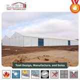 tenda industriale della tenda del magazzino della tenda di memoria del blocco per grafici dell'alluminio di 25X80m