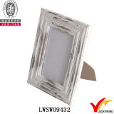 Libre en bois debout Table chic minable Photo Frame