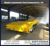 de 3axle 45000liters de carbón del acero de petróleo del combustible del tanque acoplado diesel semi