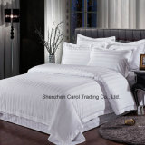 100% algodón 500TC 3cm de la banda textil ropa de cama de Hotel Hotel