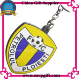 Porte-clés en PVC sur mesure avec logo de football