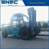 Snsc 10t Dieselgabelstapler mit Triplex Höhe des Mast-4.5m für Verkauf