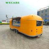 販売のためのアイスクリームの電気移動式トレーラー