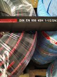 R10 4sh hydraulischer Hochdruckschlauch-Stahlnetzkabel-Schlauch