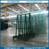 Het aangepaste Aangemaakte Glas van 319mm volledig voor het Balkon van de Trede van de Balustrade