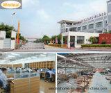 China Großhandels-Belüftung-zusammengesetzte hölzerne Innentür mit Befestigungsteilen für Projekt