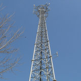 屋外の電流を通されたテレコミュニケーション多角形GSMの格子タワー