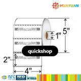 Etiqueta por atacado da freqüência ultraelevada do papel em branco de escala longa RFID IMPINJ Monza4QT H47