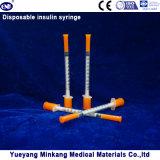 처분할 수 있는 1cc 인슐린 주사통 0.5cc 인슐린 주사통 0.3cc 인슐린 주사통 (ENK-YDS-058)