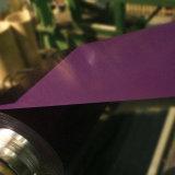 Lamiera rivestita galvanizzata preverniciata di colore d'acciaio in bobine