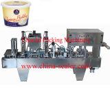 Máquina de enchimento da selagem do copo do leite
