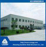 2017 Prefab Estrutura de aço leve depósito com coluna da China