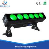 5in1 de Lichten van de Staaf van de Matrijs van het Effect van de LEIDENE 6X25W RGBWA Wasmachine van de Muur