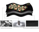 Lâmina de aço sem grampos Aranha de fios de sisal queniano comprimido Dartboard cerdas para o torneio e jogadores avançados
