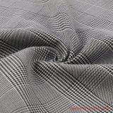Plaid Tissu de rayonne et de spandex polyester pour les vêtements