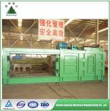 Pneumatico residuo che ricicla la macchina automatica della pressa idraulica