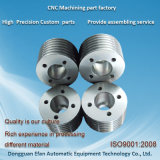 La précision tourné Lathe composants en aluminium pièces de rechange automatique d'usinage CNC