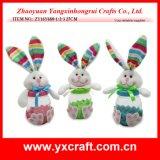 Vaso del coniglietto della decorazione di Pasqua grande (ZY15Y355-1-2-3)