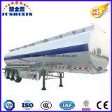3 반 차축 52cbm 알루미늄 합금 연료 화물 유조 트럭 트레일러