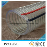 Boyau renforcé de fil d'acier de PVC de qualité