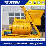 De tweeling Schacht Js1000 typt de Machine van de Bouwconstructie van de Concrete Mixer