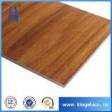 Hot vendre Cabinet Wood Design panneau composite en aluminium
