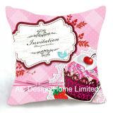 Принцесса квадратные чашки торт Дизайн ткань подушка с заполнением