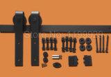 De glijdende Schuifdeur van het Gietijzer van de Hardware van het Systeem van de Staldeur Stevige Houten