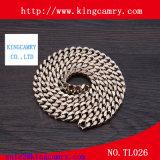 Plata y hierro del metal de la cadena del oro para bolsitas / piezas / Zapatos
