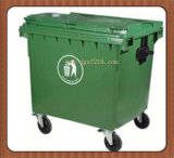 Industry Supplier를 위한 중국 1100L Outdoor Technical Plastic Trash Can