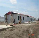 Hogar prefabricado de la estructura de acero de 1000 unidades para el gobierno de Angola