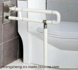 Het bejaarde Toilet die van de Handicap van de Veiligheid Nylon de Staaf van de Greep vouwen