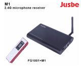 M1教室のためのプロ可聴周波無線電信2.4Gのマイクロフォンの受信機