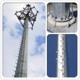 يغلفن إتصال نفس [سوبّروتينغ] فولاذ وحيد أنابيب أنابيب [بول] أنبوبيّة اتّصالات هوائي برج [مونوبول]