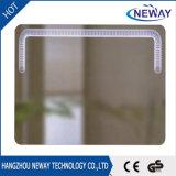 Espelho de vaidade iluminado controle da composição do diodo emissor de luz do banheiro do toque