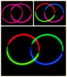 Collier de lueur de la couleur simple 11 '' (XLT5275)