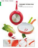 De handvat Met een laag bedekte Non-Stick Pan van het Aluminium voor Cookware Reeksen sx-Yt-Ja007