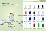Bottiglie di plastica dell'animale domestico Dissoluble dell'azzurro 175ml dell'OEM per l'imballaggio della medicina