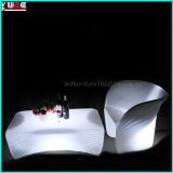 La mobilia esterna del patio di illuminazione imposta il sofà di Ltalian del sofà