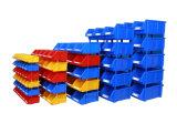 Caixa de armazenamento plástica industrial do Shelving do HDPE