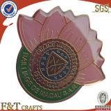 Oferta promocional do pino de lapela Emblema de Metal Personalizado Emblema Barata Badge com resina epóxi