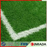 Трава футбола аттестации Ce синтетическая искусственная поддельный для футбольных полей