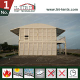 Tende di due piani del cubo, tenda della tenda foranea del doppio ponte per l'evento