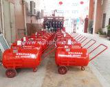 Mobile Schaumgummi-Becken-Karre für Feuerschutzanlage