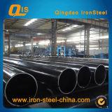 Tubo de acero sin soldadura de carbono laminado en caliente para tubería de línea