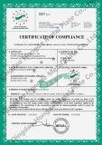 Hogar C E 9CV biotrituradora Certificación